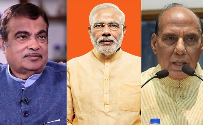 नरेंद्र मोदी, प्रधानमंत्री, राजनाथ सिंह, नितिन गडकरी, लोकसभा चुनाव 2019