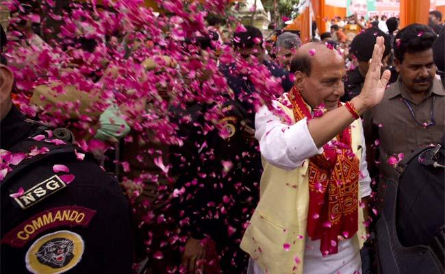राजनाथ सिंह, भाजपा, लखनऊ, कांग्रेस, सपा