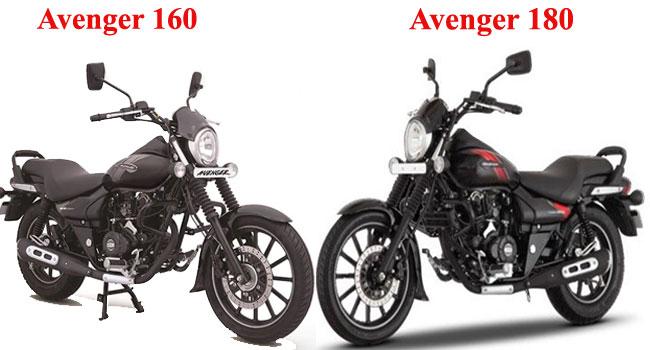 बजाज अवेंजर 160 और 180 में डिजाइन को लेकर कोई खास बदलाव नहीं है.