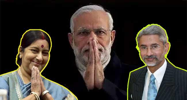 एस जयशंकर, सुषमा स्वराज, नरेंद्र मोदी, मोदी कैबिनेट