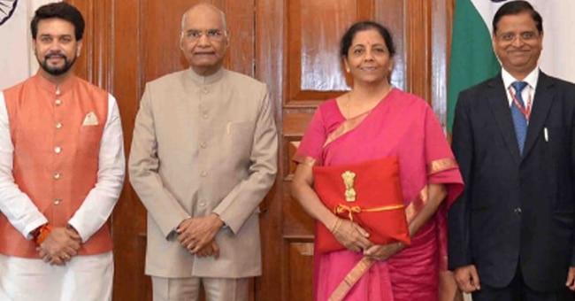 बजट 2019, वित्त मंत्री, निर्मला सीतारमन, मोदी सरकार 2.0