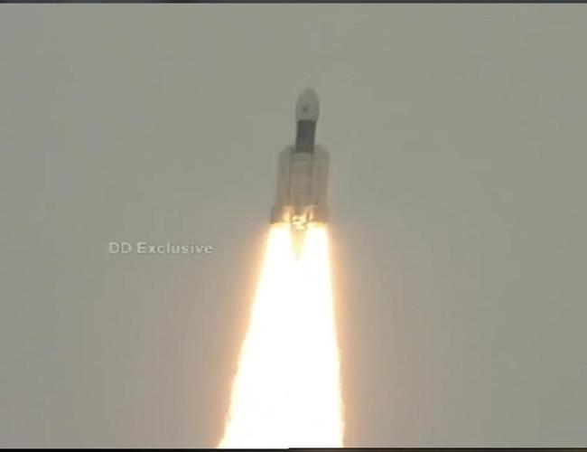 Chandrayaan-2 launched.