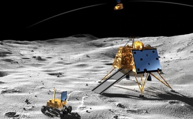 चंद्रयान 2, लैंडर विक्रम, इसरो, चंद्रमा