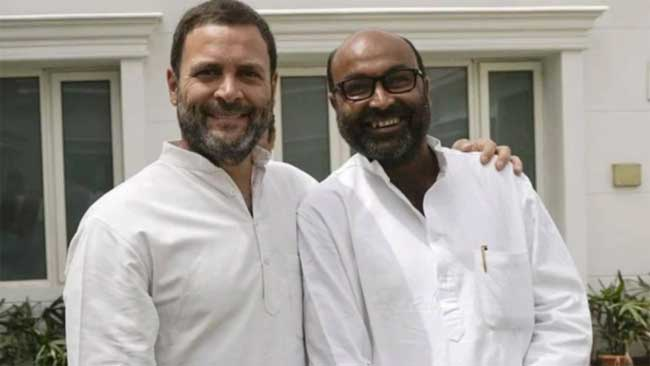 up pcc prez lallu with rahul gandhi