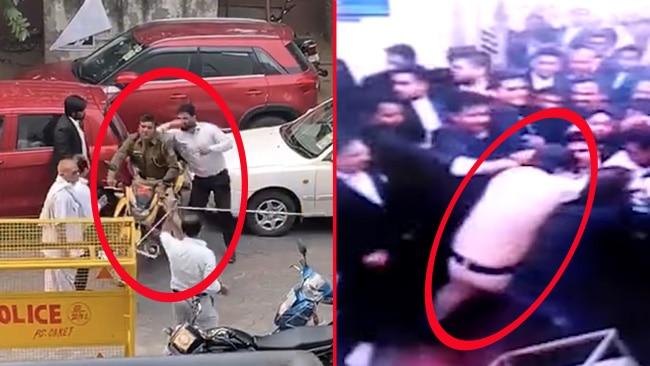 delhi police protest live update Delhi Police-lawyers clash