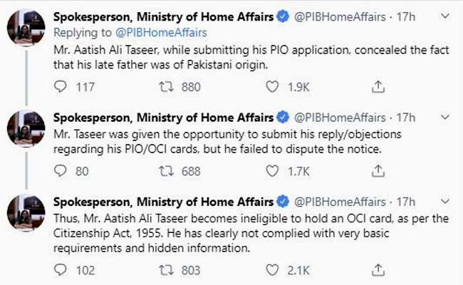 ministry tweet