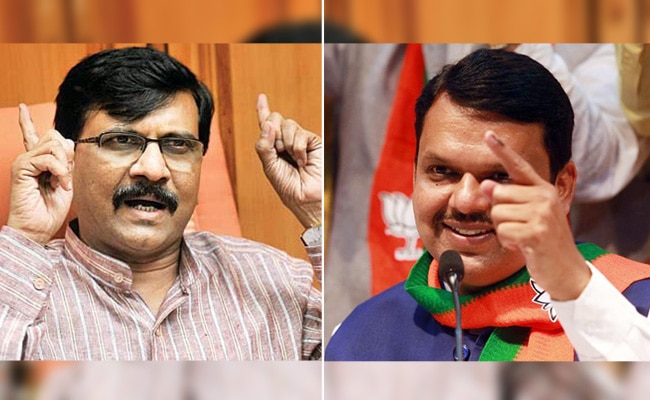 Sanjay Raut Devendra Fadnavis Maharashtra govt formation tussle