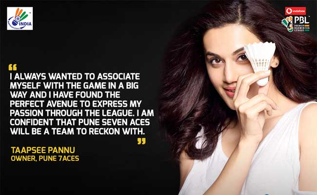 taapsee pannu pbl