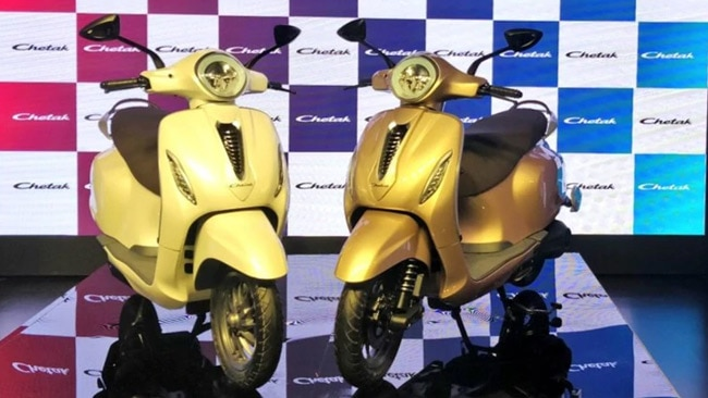 Bajaj Chetak Electric Scooter Price Mileage Specifications
