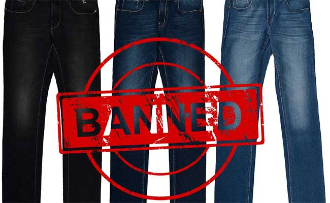 Dress code for temple darshan Jeans ban