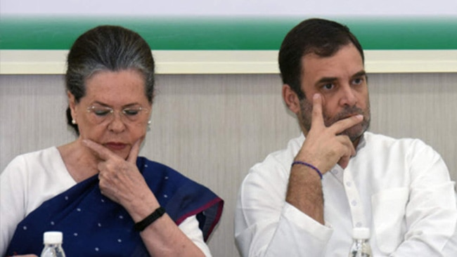 Congress party going down