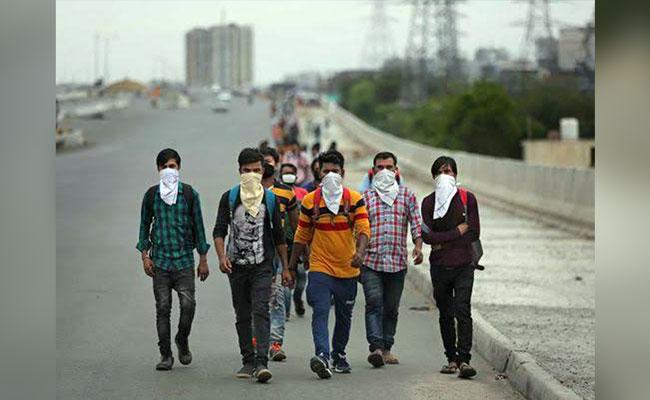 Coronavirus migrant labourer