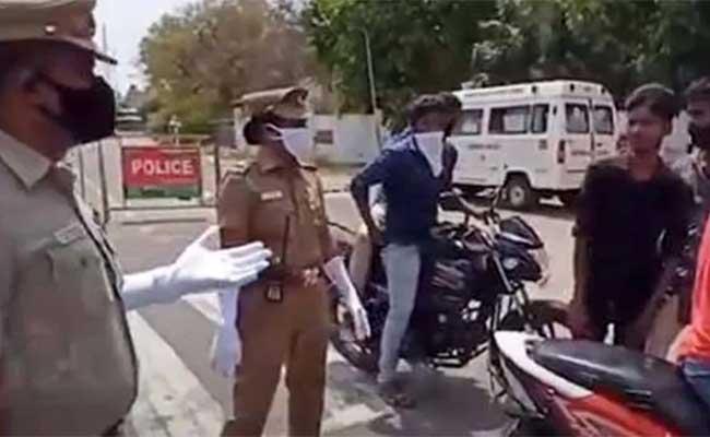 Coronavirus, Lockdown, Tamilandu, Police, Viral Video