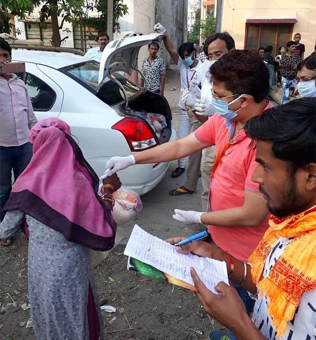 Bhandara, Food, Coronavirus, Lockdown, Migrant Workers