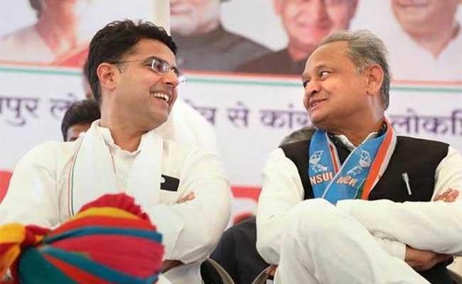 Ashok Gehlot, Sachin Pilot, Rajasthan, Rajya Sabha Elections