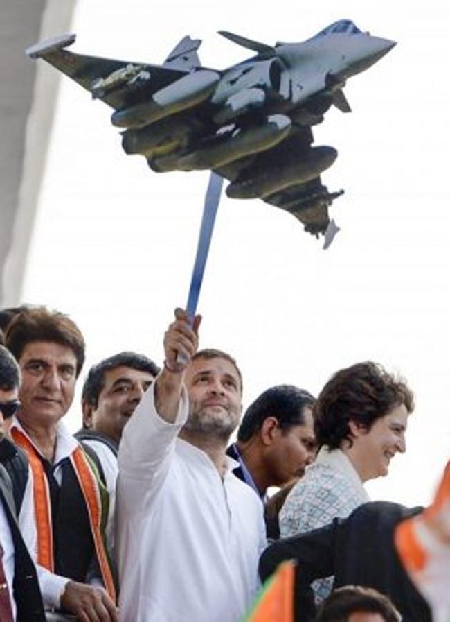 rahul gandhi rafale deal