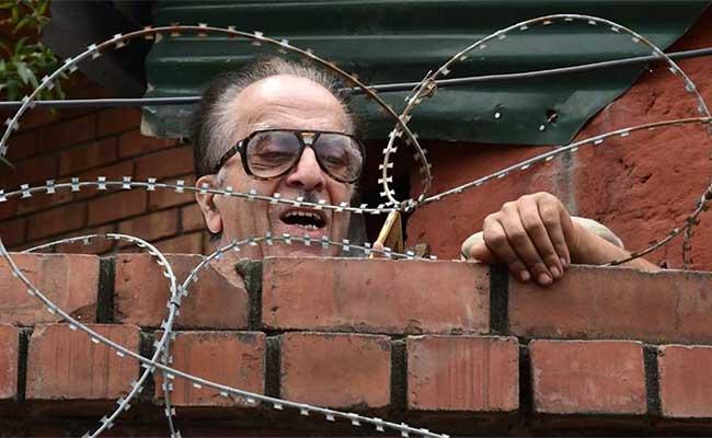 Saifuddin Soz, House Arrest, Congress, Modi Government, Jammu Kashmir