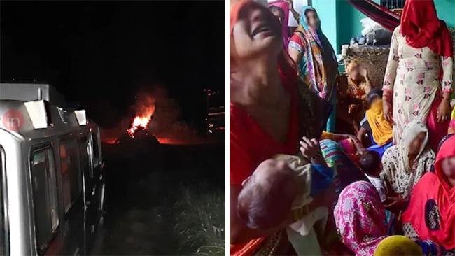 hathras gang rape incident