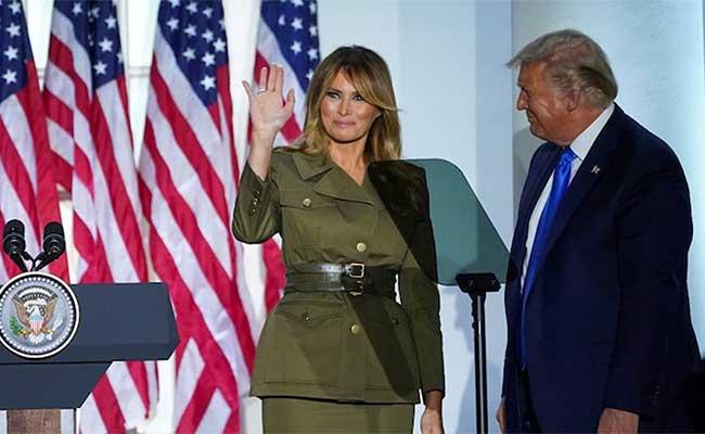 Donald Trump, Melania Trump, President, Coronavirus, Disease