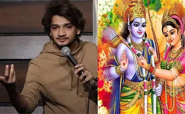 Munawar Faruqui, Hindu, Lord Ram, Sita, Comedy, Arrest, Goddess