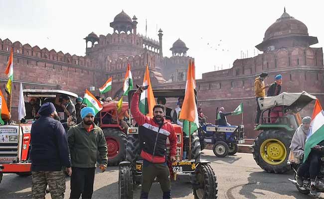 Republic Day, Delhi, Red Fort, Prime Minister, Farmer Protest, Demonstration