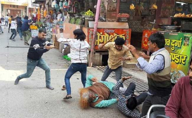 Chaat Fight Baghpat, Baghpat Chaat Fighters, UP, Baghpat, Fight, UP Police, Twitter, Meme