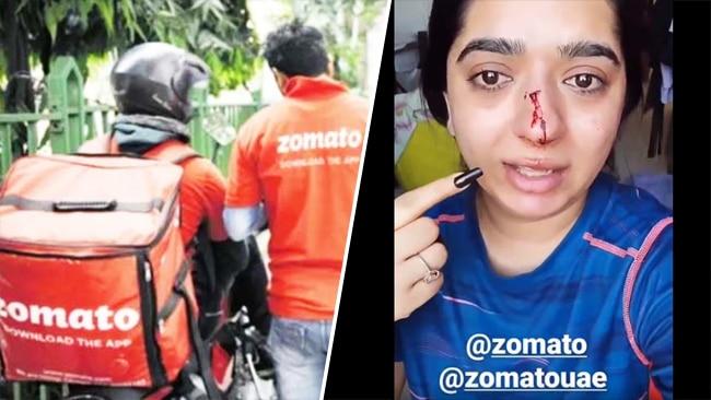 एक ब्यूटी इनफ्लुएंसर महिला ने इंस्टाग्राम पर जोमैटो डिलीवरी बॉय के हमले की घटना बताते हुए एक वीडियो डाला था.