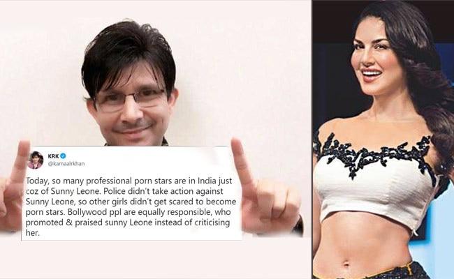 Kamaal R Khan, Sunny Leone, Tweet, Porn, Vulgarity, Raj Kundra, Porn Star