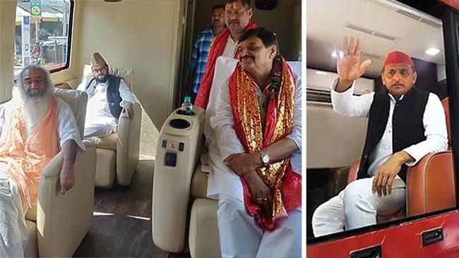 Akhilesh Yadav and Shipal Singh Yadav Alliance