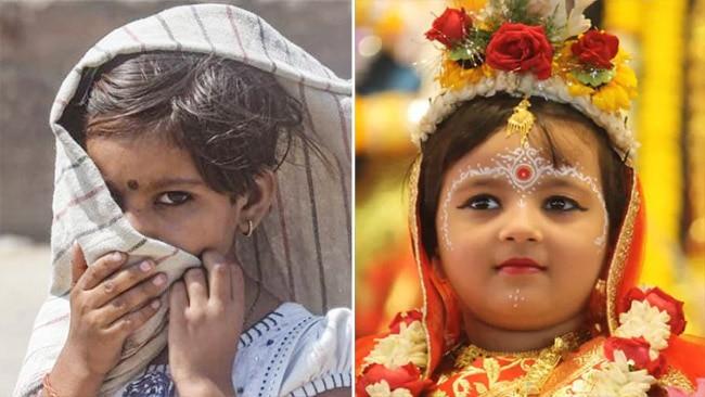 Kanya Pujan Vidhi, Muhurat, Navratri 2021, Navratri, Navratri 2021 Kanya Pujan