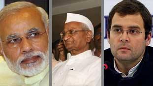 राहुल ने लोकपाल पर मोदी को घेरा तो अन्ना भी दहाड़े, कहा - 'केजरीवाल जैसों को नो एंट्री'