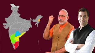 2019 में केंद्र में सत्ता की चाबी दक्षिण भारत के इन राज्यों के पास होगी