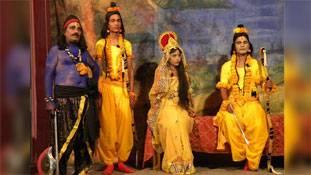 दर्शकों के अभाव में कम होती जा रही है शेखावाटी की रामलीला मण्डलियां