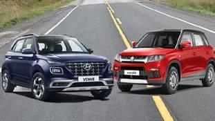 Hyundai Venue Vs Maruti Brezza: 7 लाख Price की कारों को नई SUV की टक्कर