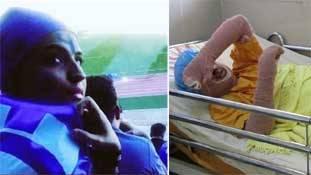 ईरान के हाथ एक फुटबॉल प्रेमी महिला के खून से रंगे हैं !