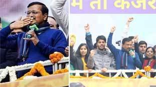 केजरीवाल का इरादा समझिये- पहले ही भाषण से BJP के एजेंडे में घुसपैठ