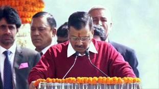 Arvind Kejriwal oath ceremony में विपक्ष को न बुलाने का मकसद साफ है