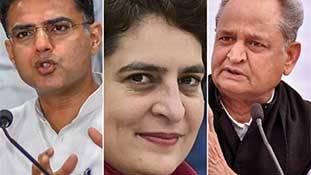 कांग्रेस में प्रियंका राज की शुरुआत है पायलट की री एंट्री!