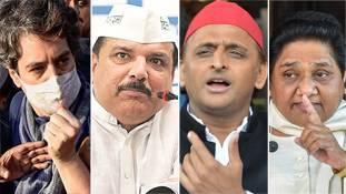 उत्तर प्रदेश में Congress-AAP की नई एंट्री सपा-बसपा की बत्ती गुल कर देगी?