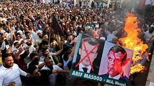 फ्रांस में निर्दोषों का गला काटने वालों का भारत में साथ देने वाले कौन?
