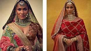 सब्यसाची कलेक्शन की नुमाइश के बहाने मसाबा गुप्ता ने सुंदरता की बहस को नया आयाम दे दिया