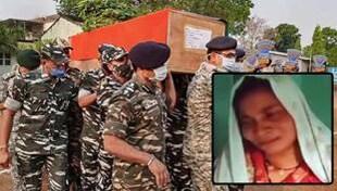 डेढ़ साल की शादी, गोद में बच्चा: शहीद की पत्नी का दर्द देख कलेजा फट जाता है