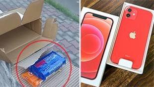 जिनके आईफोन के डिब्बे में साबुन निकलता है, उनका बाद में क्या होता है?