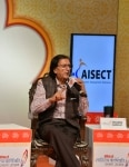 Wasim Barelvi at the India Today Sahitya Varshiki Rachna Utsav