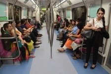 First Day Magenta Line Metro
