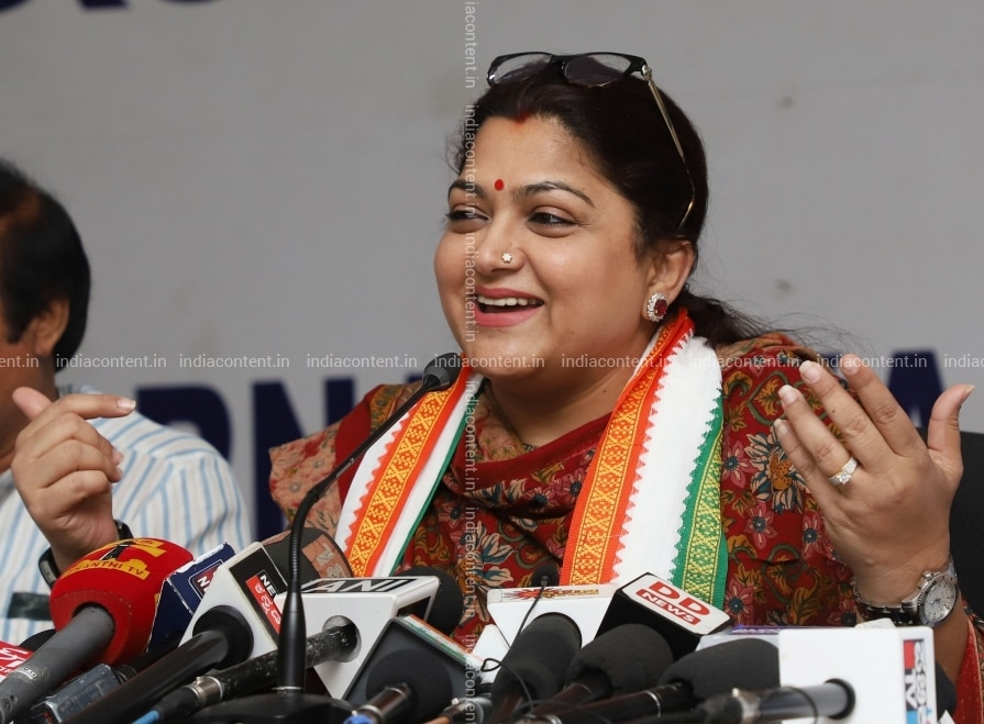 kushboo family photos