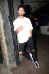 Mumbai  Actor Shahid Kapoor at the wrap up party of his upcoming film  Kabir Singh  in Mumbai  on April 11  2019  Photo  IANS