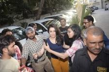 Mumbai  Actress Shraddha Kapoor celebrates her birthday at Juhu in Mumbai on March 3  2019  Photo  IANS