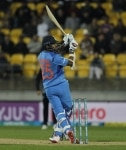 Wellington  New Zealand   Indias Shikhar Dhawan in action during the first T20I match between India and New Zealand at Westpac Stadium in Wellington  New Zealand on Feb 6  2019  Photo  Surjeet Yadav IANS