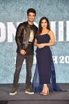 Mumbai  Actors Sushant Singh Rajput and Bhumi Pednekar during a press conference to promote their upcoming film Sonchiriya in Mumbai  on Feb 9  2019  Photo  IANS Ashutosh Rana
